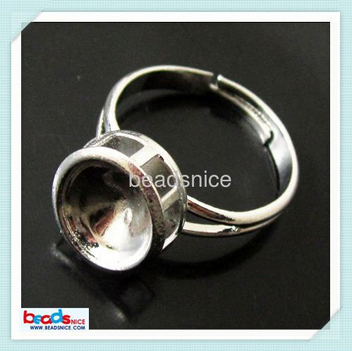 Beadsnice ID 24496 Brass bezel lead-safe nickel-free inside diameter:10X8mm jewelry parts and accessories copper jump ring