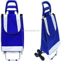 Wheeled market shopping trolley bag