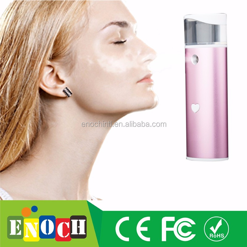 2017 Ladies' Love Instead of Mask Deep Moisturing Skin care sprayer with Power Bank