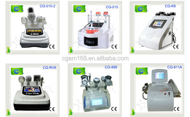 CG-RV9 Update and high tech 4 in 1 ultrasonic liposuction cavitation machine for sale for sale