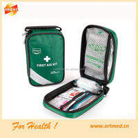 Home use Green car military First aid kit for emergency medical treatment