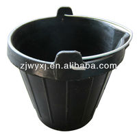 Fiber Reinforced Rubber Pail Recycled Tire