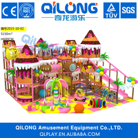 No.1 indoor playground supplier in Alibaba,Cheap commercial kids plastic indoor playhouse