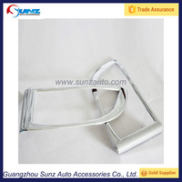 For Toyota Prado Land Cruiser FJ120 2003 SUV Front Fog Lamp Cover ABS chrome fit Toyota Prado fj120 2004 2005 2006 2007 200