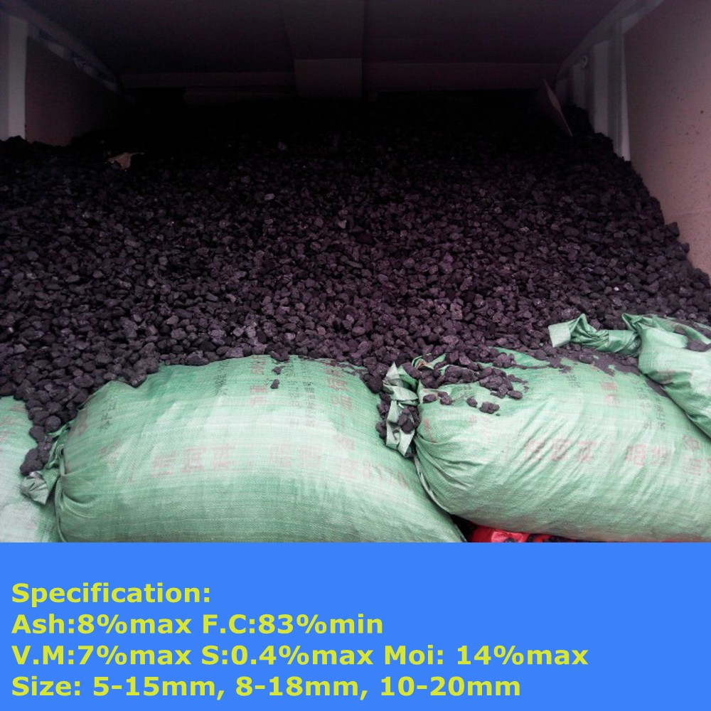 Gas Coke 10-20mm good price