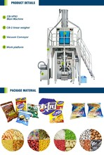 Multifunctional automatic full fill vertical dried food packaging machine for fruit vegetable