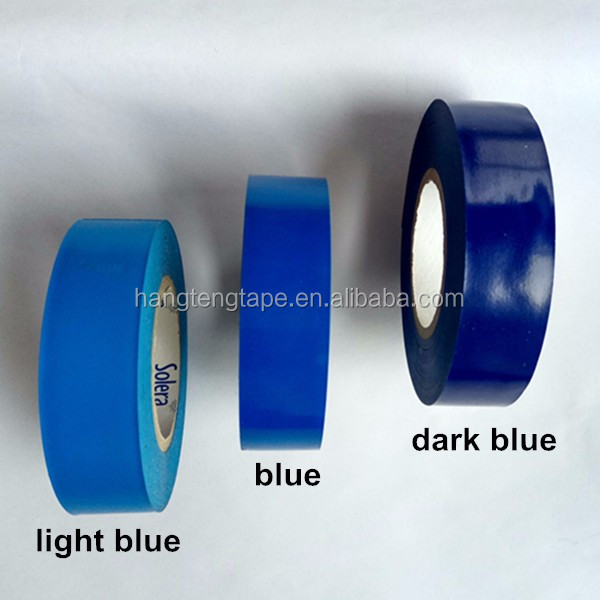 China factory insulating blue insulation material PVC waterproof tape