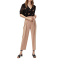 Wholesale Casual Wide Leg Pants And Blouse Sets For Lady