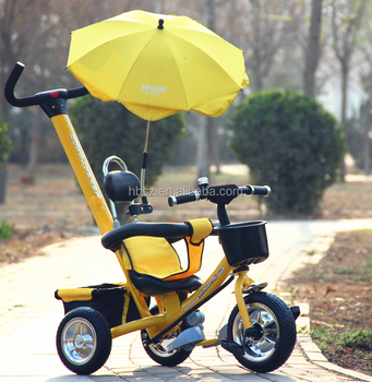 New arrival of baby tricycle with umbrella style awning /hot sale