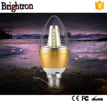 china factory price e27 e14 3w 5w 7w led light bulb ,led candel light for landscapes