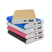 red/black/green/gold/silver/blue 20000mah powerbank custom logo smart power bank for gift