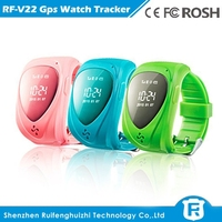 New Wrist Watch GPS Tracker GSM/ GPRS Real time Tracking Device For Kids Elderly with SOS Emergency Call Button