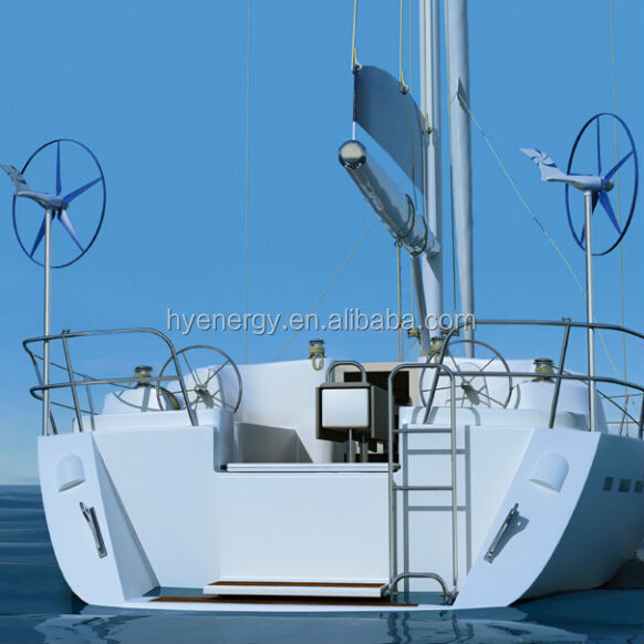 HYE 400w600w small wind generator for boat/ship/yacht wind generator motors for sale