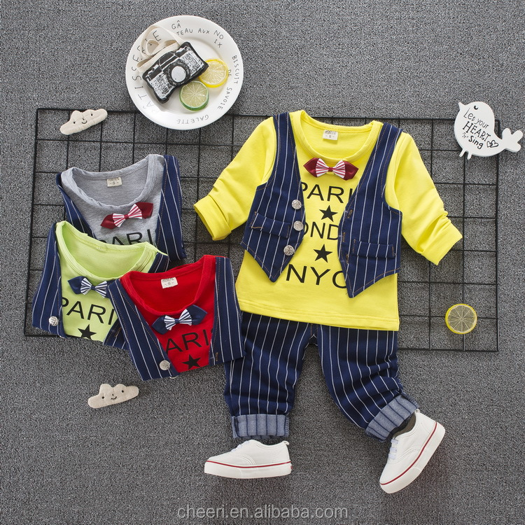 trendy hot sale fancy fashion custom cotton breathable cheap china wholesale kids clothing boys wholesale 2017