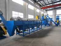 China pe crushing washing drying line