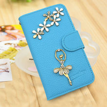 Stick a drill holster leather cell phone case for samsung note3