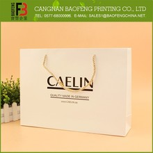 Unique Design Modern Cheap Price Shopping Paper Bag, Popular Hand Paper Bag