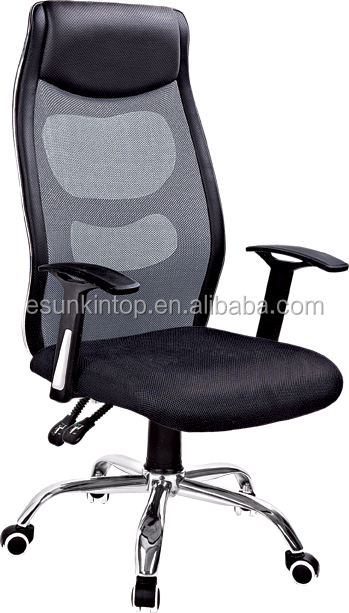 High back 360 swivel double function staff mesh office <strong>chair</strong> with headrest
