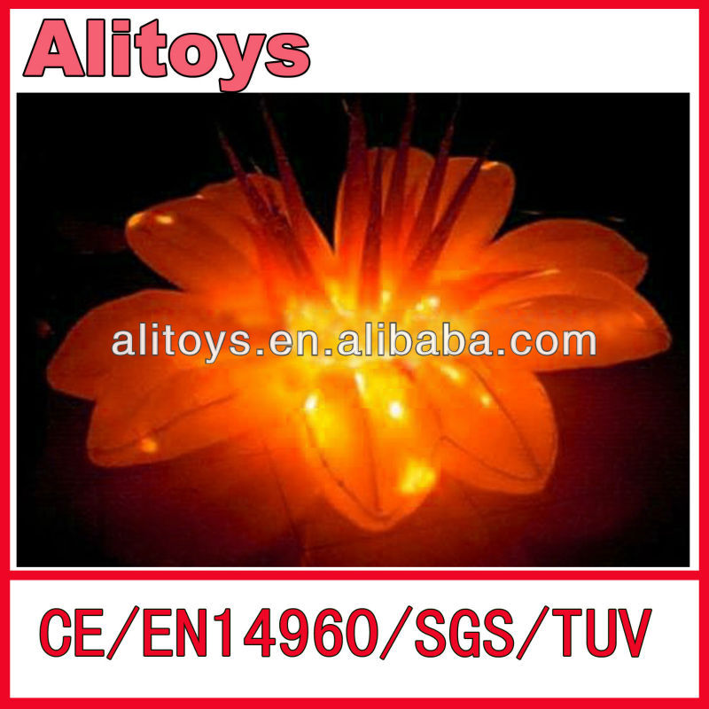 Ali 2014 Top sell Led Flashing flowers led balloon