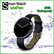 Cheap smart watch BT 4.0 phone call function ,waterproof MaPan MW02 video call watch phone