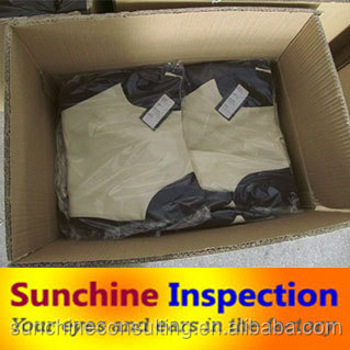 garment washing inspection in China/clothing inspection services/quality control