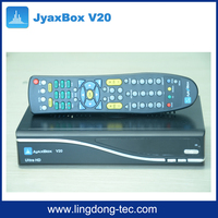 Set Top Box Openbox Digital Satellite Receiver Jyaxbox Ultra V20 with JB200 8PSK QPSK Tuner Module for North America