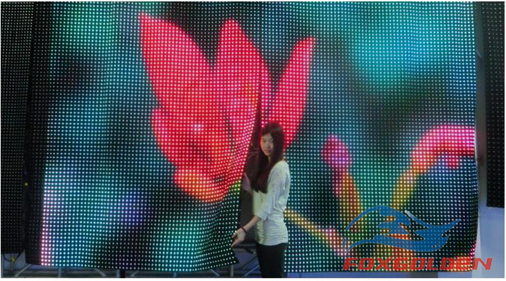 New invention fashion style no cabinets Outdoor flexible led display