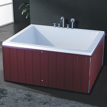 hot tub foshan factory hotel square simple vertical bathtub