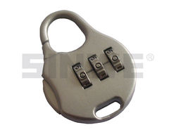 3-digit combination zinc-alloy electronic padlock for luggage and bag