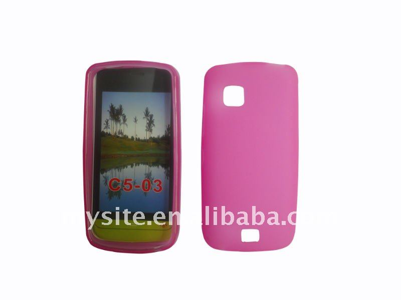 Cell Phone TPU Case For Nokia C5-03