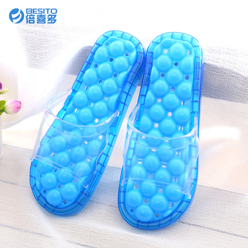 BEIXIDUO Wholesale Good Quality Comfortable Hotel Plastic Massage Spa <strong>Slipper</strong>