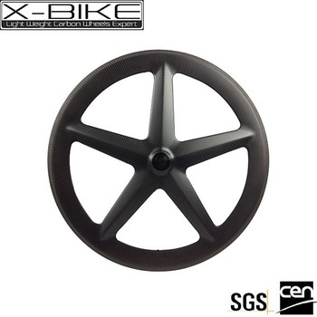 new product chiese bicycle part 700c 5 spoke PMI foam carbon wheel