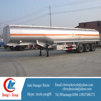 50000 liters fuel tank semi trailer for sale (volume optional) tanker truck dimension