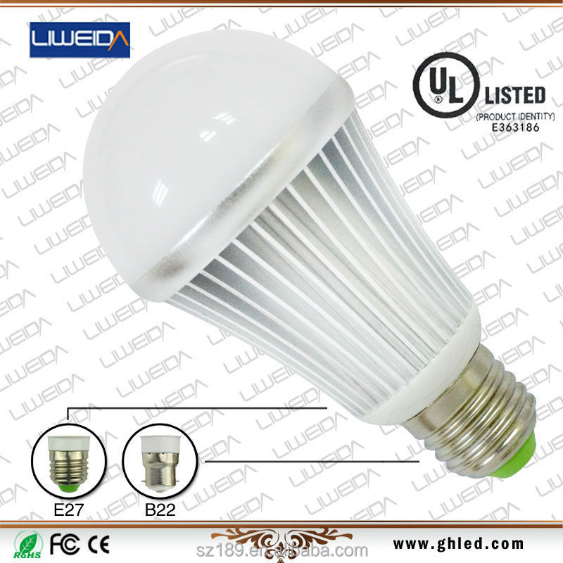e27 e26 high lumen per watt led led light 12w10w