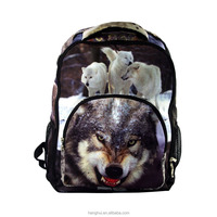 Brown dog Print Computer Backpack - Fits Most 15 Inch Laptops
