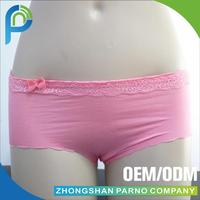OEM factory high quality cotton girl bow underwear PL005