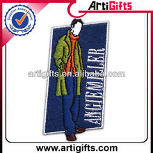 Promotion embroidery textile patches