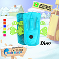Winter plastic kids Dino shoes for wholesale