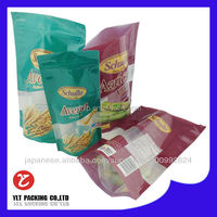 Food Grade Custom Printed Plastic Snack Food Bag for Packing Dried Fruit , Sugar , Candy , Nut , Cookie