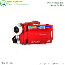 New consumer electronics 3.0inch touch screen video camcorder
