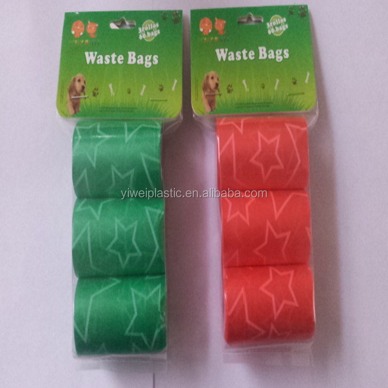 china garbage bag for pet/plastic garbage bag/wholesale dog poop bag
