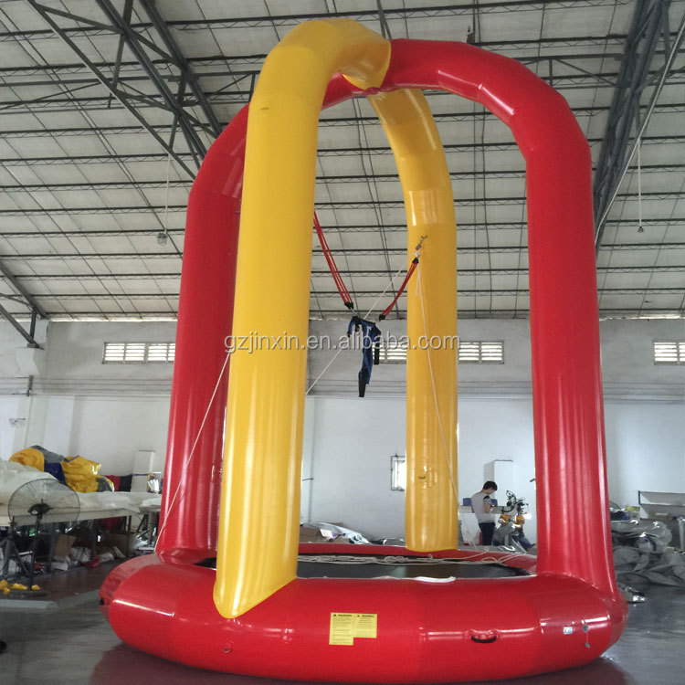Euro Inflatable Bungee Jump Just Fun Kids Jumping Inflatables Trampoline For Sale