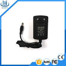 wall-mount 12v 1a adaptor US plug ac/dc power adapter
