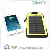 2016 newly rechargeable solar cell phone charger