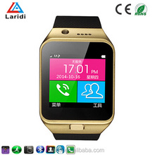Hot selling smart fashion mobile watch GV09 brand watch phones support SIM card and android phone