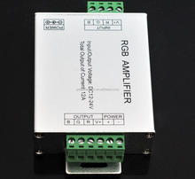 12A 24A 30A LED RGB Amplifier DC12V For Synchronously 10M 15M 25M 5050 RGB Strip