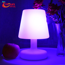 5V illuminated battery powered led table lamp