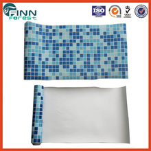 Suitable any shape swimming pool use fashionable mosaic liner piscina