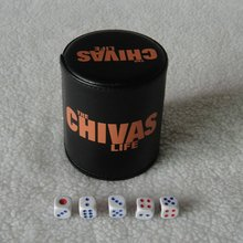 2012 new attracting chivas dice cup for Chivas promotion