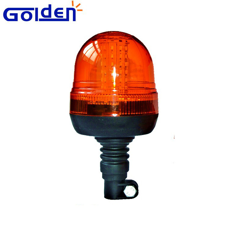 Amber 60 led rotating beacon light